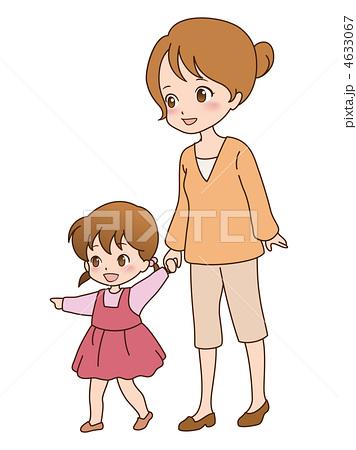 人物イラスト素材,家族,親子